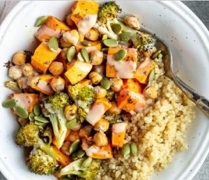 Roasted Veggie & Quinoa Bowl